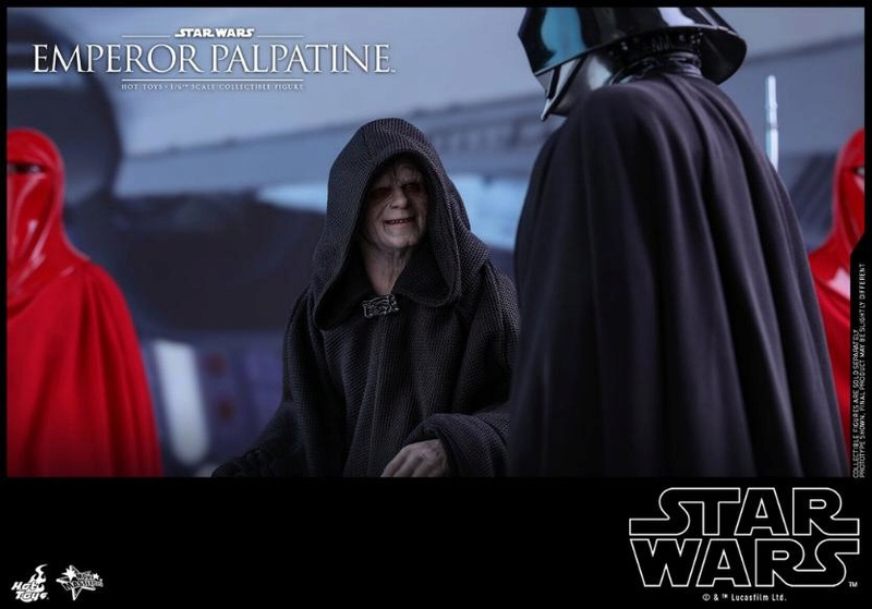 Hot Toys Star Wars - Emperor Palpatine Sixth Scale Figure   Empere35