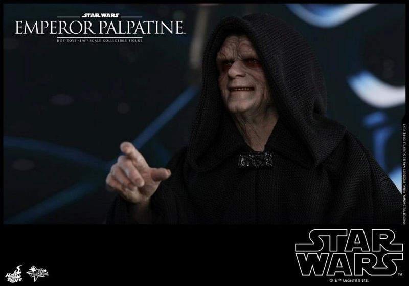 Hot Toys Star Wars - Emperor Palpatine Sixth Scale Figure   Empere36