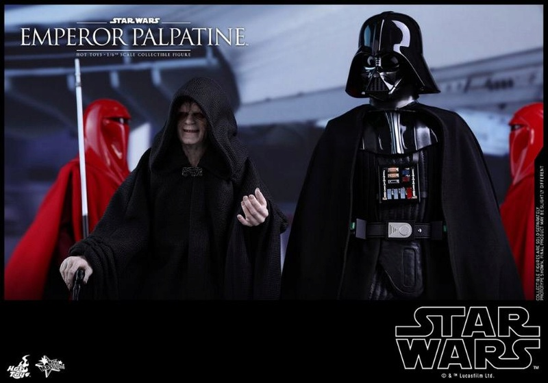 Hot Toys Star Wars - Emperor Palpatine Sixth Scale Figure   Empere37