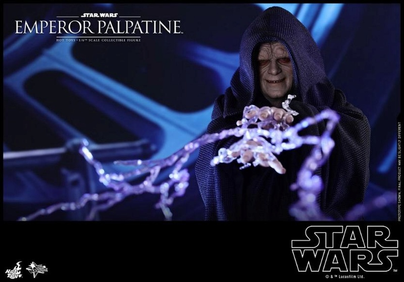 Hot Toys Star Wars - Emperor Palpatine Sixth Scale Figure   Empere38