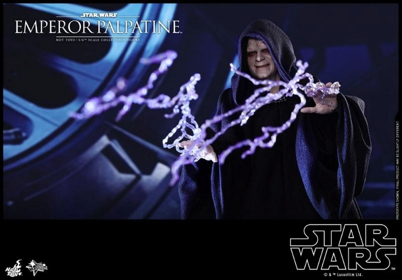 Hot Toys Star Wars - Emperor Palpatine Sixth Scale Figure   Empere39