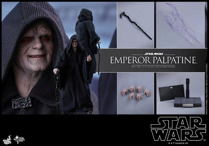 Hot Toys Star Wars - Emperor Palpatine Sixth Scale Figure   Empere40
