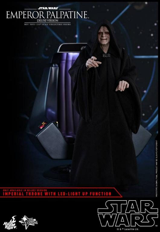 HOT TOYS - Star Wars EP6 - 1/6th Emperor Palpatine Deluxe  Empere41