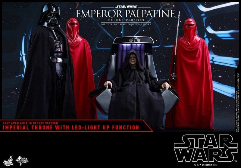 HOT TOYS - Star Wars EP6 - 1/6th Emperor Palpatine Deluxe  Empere42