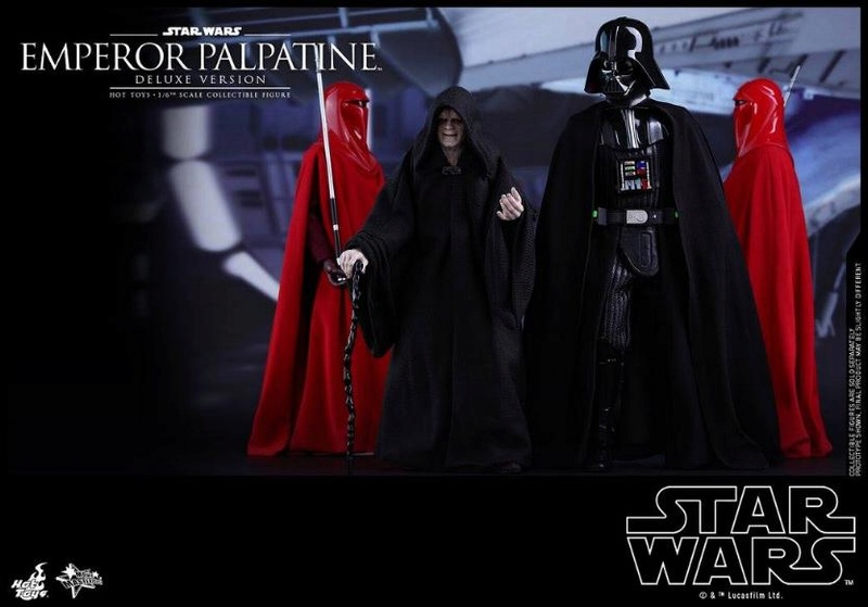 HOT TOYS - Star Wars EP6 - 1/6th Emperor Palpatine Deluxe  Empere43