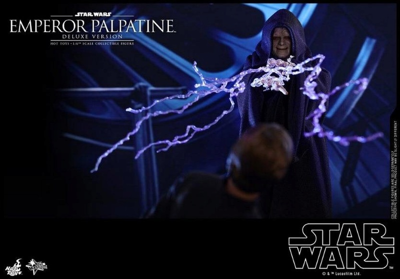 HOT TOYS - Star Wars EP6 - 1/6th Emperor Palpatine Deluxe  Empere45
