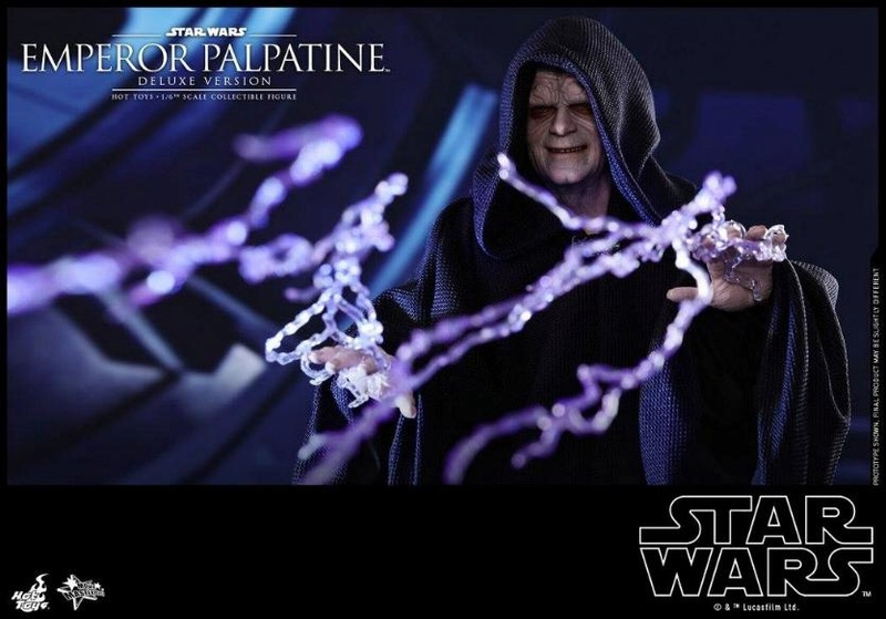 HOT TOYS - Star Wars EP6 - 1/6th Emperor Palpatine Deluxe  Empere46