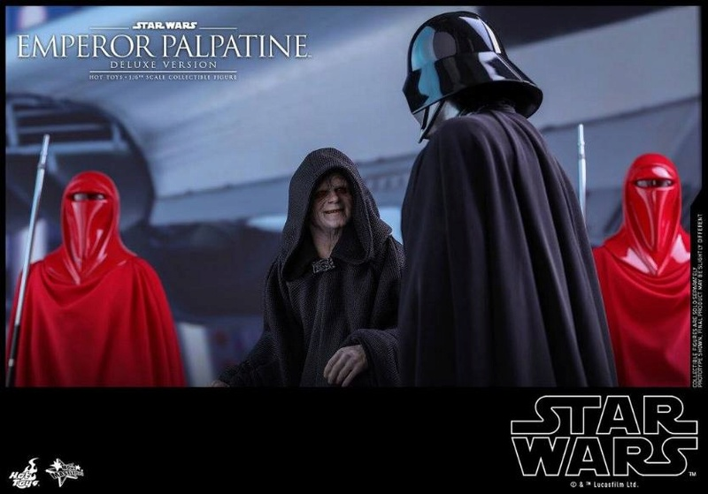 HOT TOYS - Star Wars EP6 - 1/6th Emperor Palpatine Deluxe  Empere47