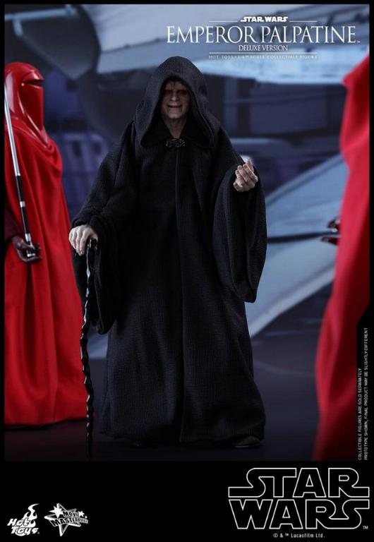 HOT TOYS - Star Wars EP6 - 1/6th Emperor Palpatine Deluxe  Empere48