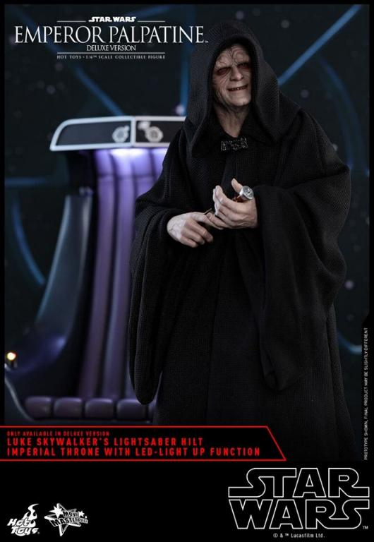 HOT TOYS - Star Wars EP6 - 1/6th Emperor Palpatine Deluxe  Empere49