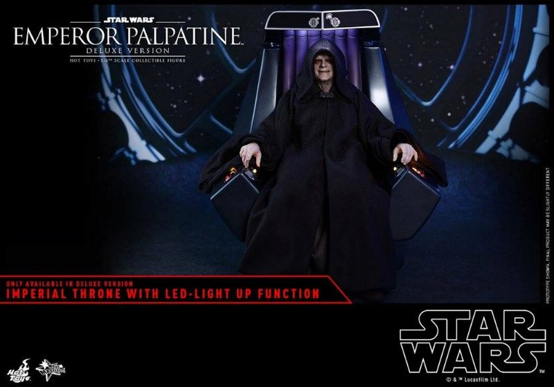 HOT TOYS - Star Wars EP6 - 1/6th Emperor Palpatine Deluxe  Empere50