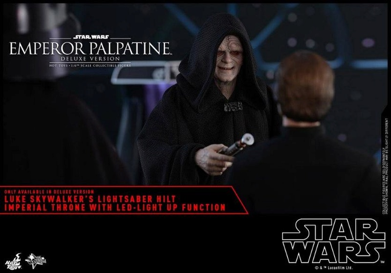 HOT TOYS - Star Wars EP6 - 1/6th Emperor Palpatine Deluxe  Empere51
