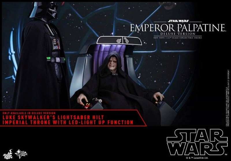 HOT TOYS - Star Wars EP6 - 1/6th Emperor Palpatine Deluxe  Empere52