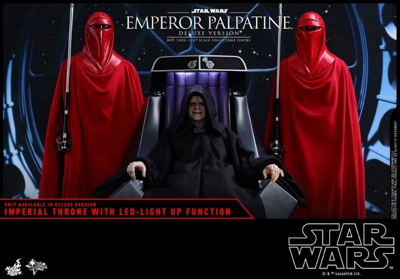 HOT TOYS - Star Wars EP6 - 1/6th Emperor Palpatine Deluxe  Empere53