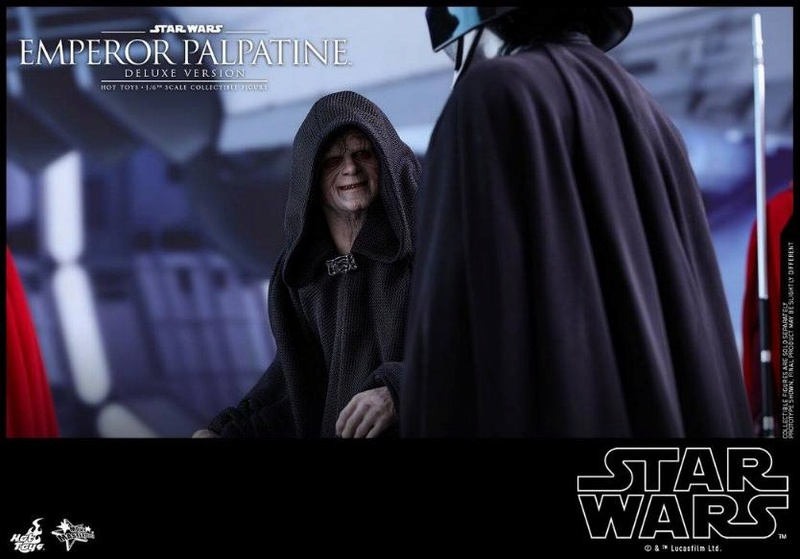 HOT TOYS - Star Wars EP6 - 1/6th Emperor Palpatine Deluxe  Empere54