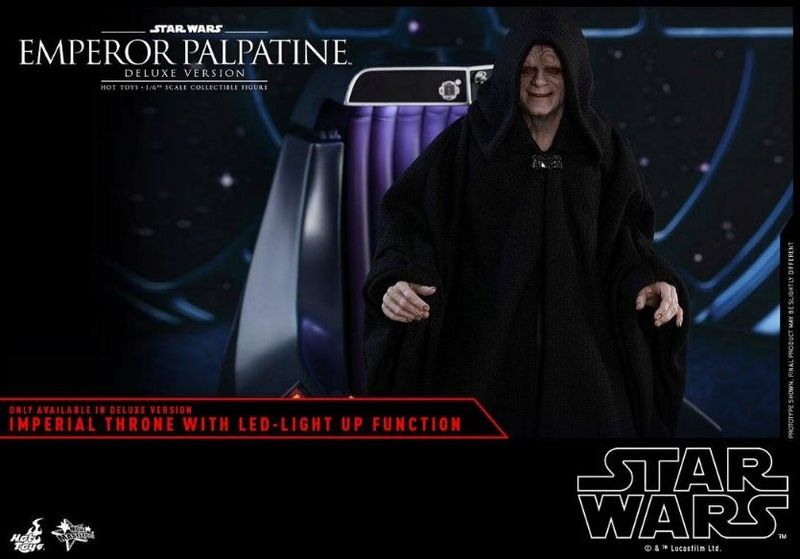 HOT TOYS - Star Wars EP6 - 1/6th Emperor Palpatine Deluxe  Empere55