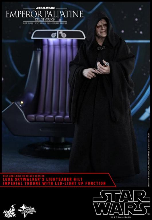 HOT TOYS - Star Wars EP6 - 1/6th Emperor Palpatine Deluxe  Empere56
