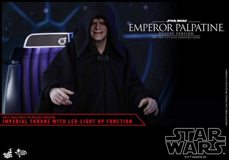 HOT TOYS - Star Wars EP6 - 1/6th Emperor Palpatine Deluxe  Empere57