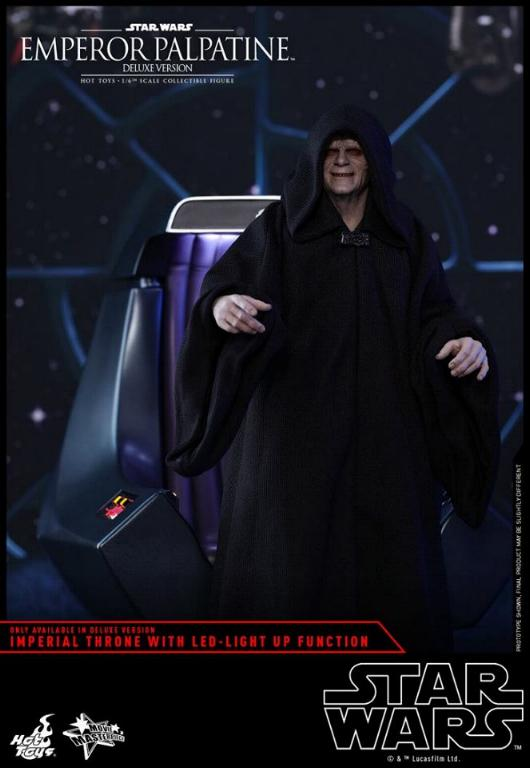 HOT TOYS - Star Wars EP6 - 1/6th Emperor Palpatine Deluxe  Empere58