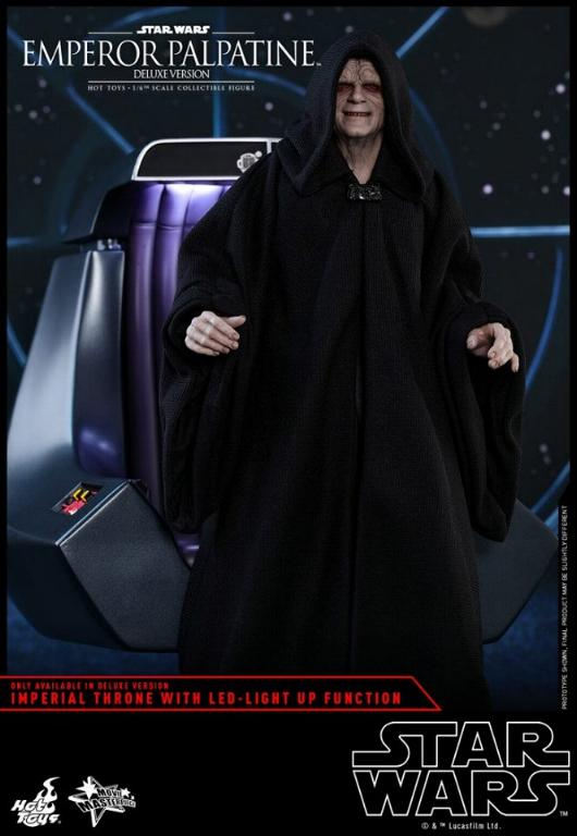 HOT TOYS - Star Wars EP6 - 1/6th Emperor Palpatine Deluxe  Empere59
