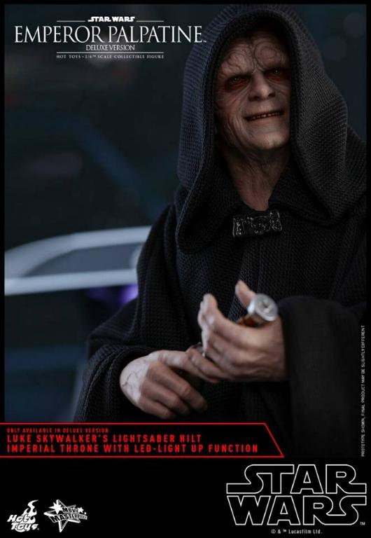 HOT TOYS - Star Wars EP6 - 1/6th Emperor Palpatine Deluxe  Empere60