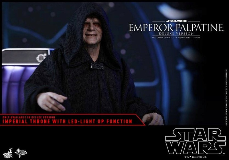 HOT TOYS - Star Wars EP6 - 1/6th Emperor Palpatine Deluxe  Empere61