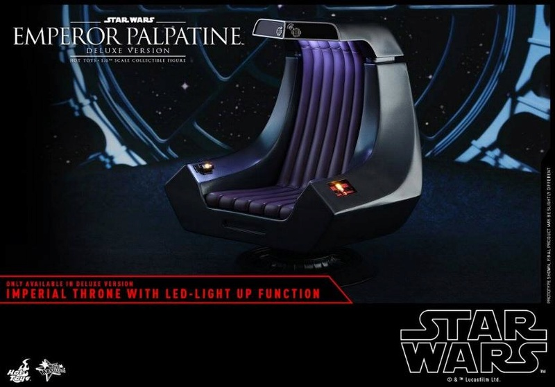 HOT TOYS - Star Wars EP6 - 1/6th Emperor Palpatine Deluxe  Empere62