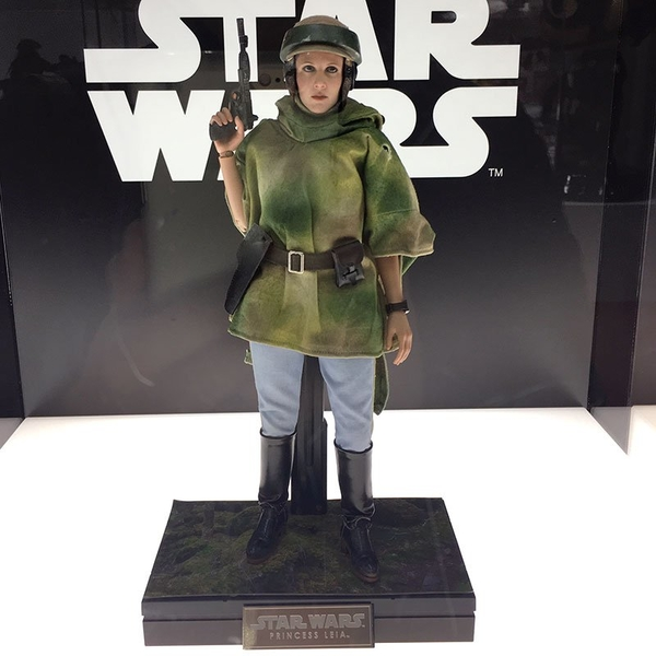 Hot Toys Star Wars - Princess Leia Endor Sixth Scale Figure Endor_10