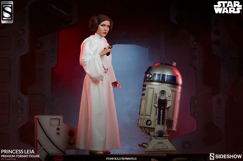 Sideshow Collectibles LEIA ANH - Premium Format (2018)  Ex-gro10