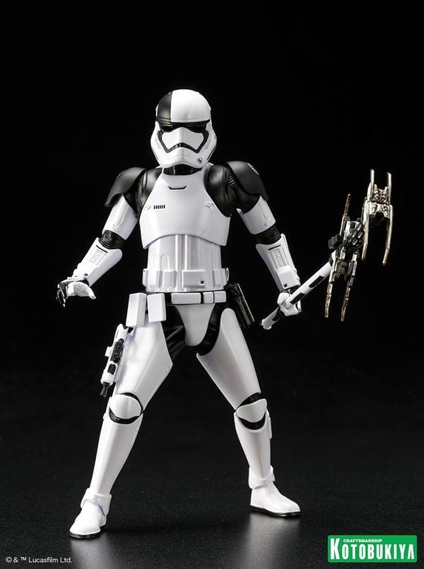 Kotobukiya - First Order Stormtrooper Executioner ARTFX+ Execut16