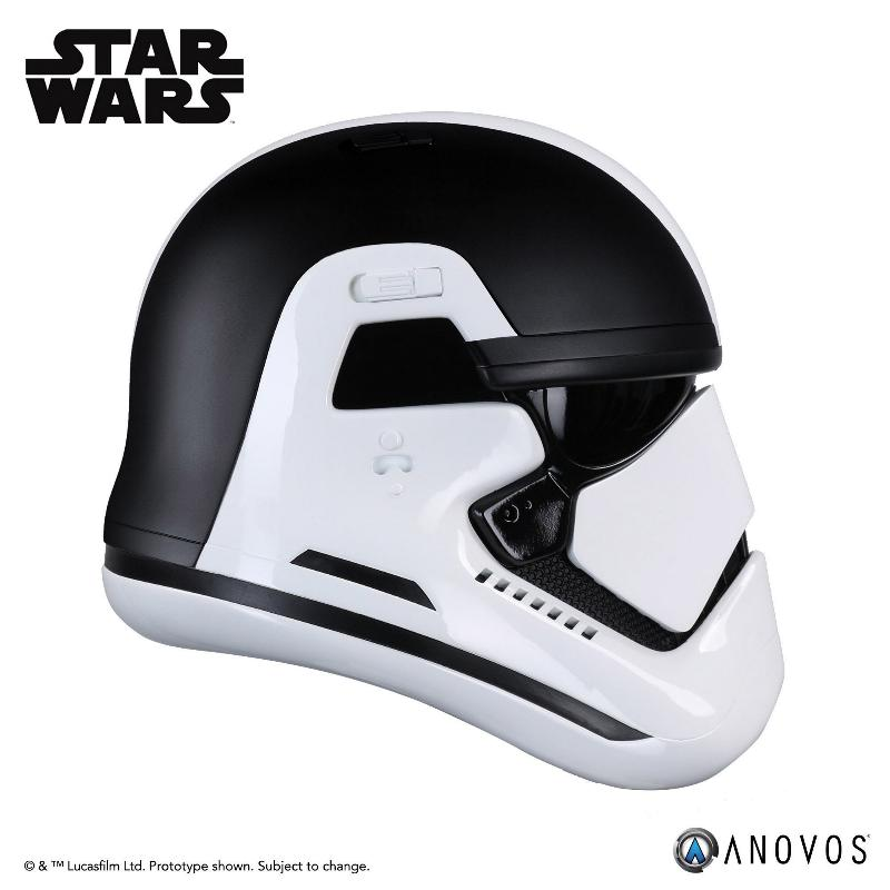 ANOVOS THE LAST JEDI Stormtrooper Executioner Premier Helmet Execut27