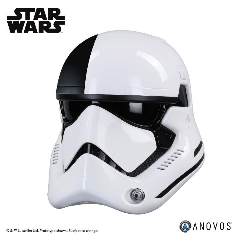 ANOVOS THE LAST JEDI Stormtrooper Executioner Premier Helmet Execut28