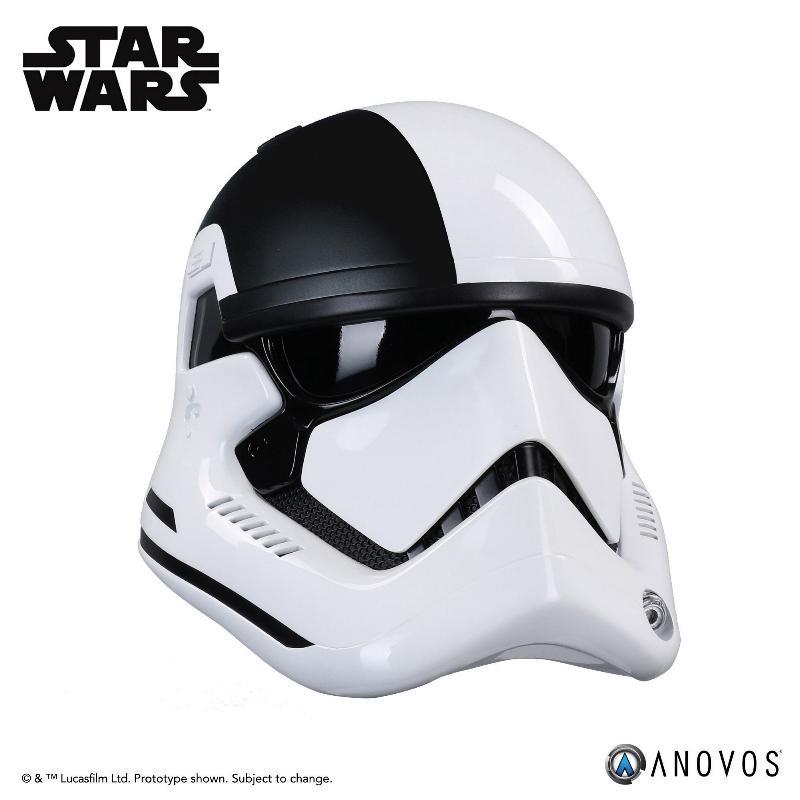 ANOVOS THE LAST JEDI Stormtrooper Executioner Premier Helmet Execut29