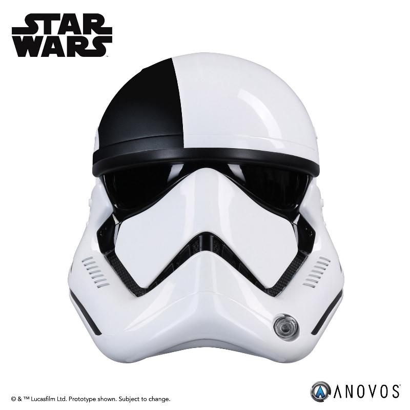 ANOVOS THE LAST JEDI Stormtrooper Executioner Premier Helmet Execut30