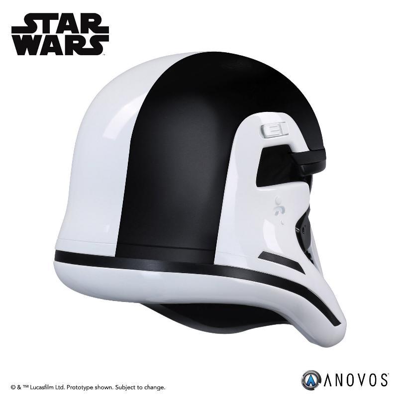 ANOVOS THE LAST JEDI Stormtrooper Executioner Premier Helmet Execut31
