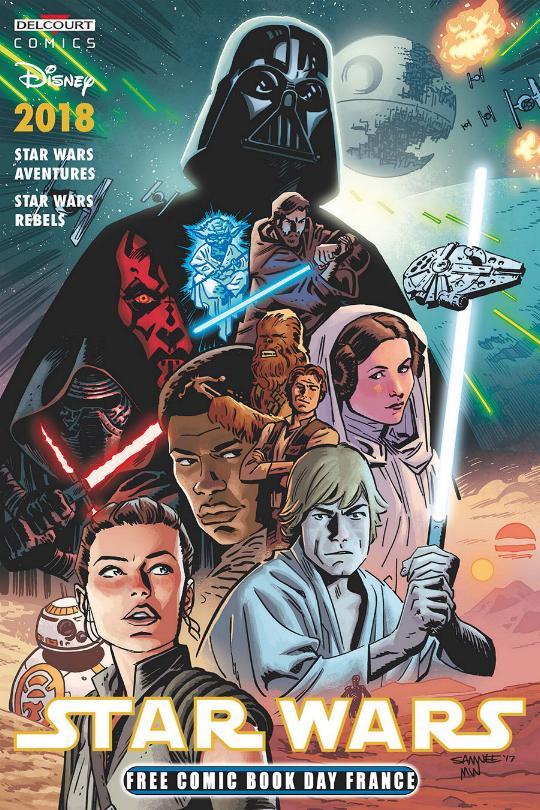 DELCOURT Free comic book day 2018 - Star Wars Fcbd2010