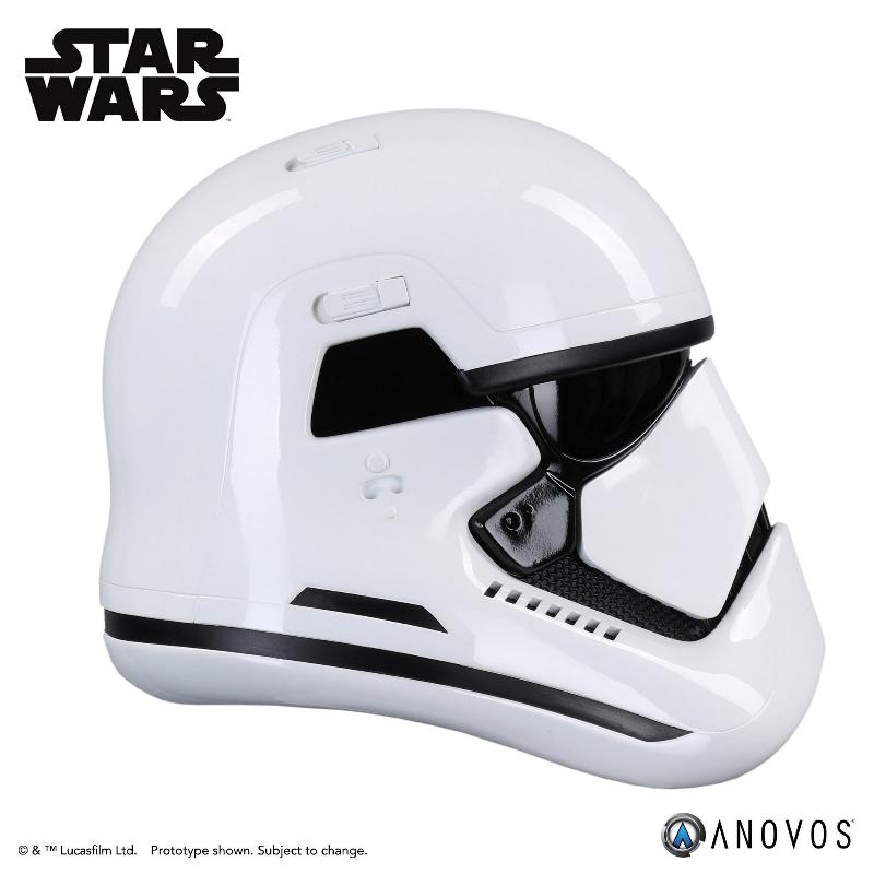 ANOVOS - STAR WARS TLJ First Order Stormtrooper Helmet First_12