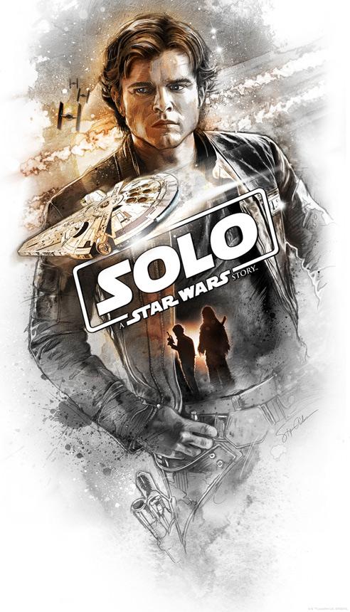 Artwork Star Wars Solo - ACME - Flying Solo  Flying10