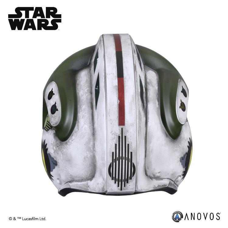 ANOVOS - STAR WARS Gold Leader Rebel Pilot Helmet Accessory Gold_l15