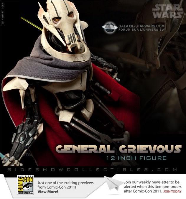 Sideshow - General Grievous - 12 inch Figure Grievo10