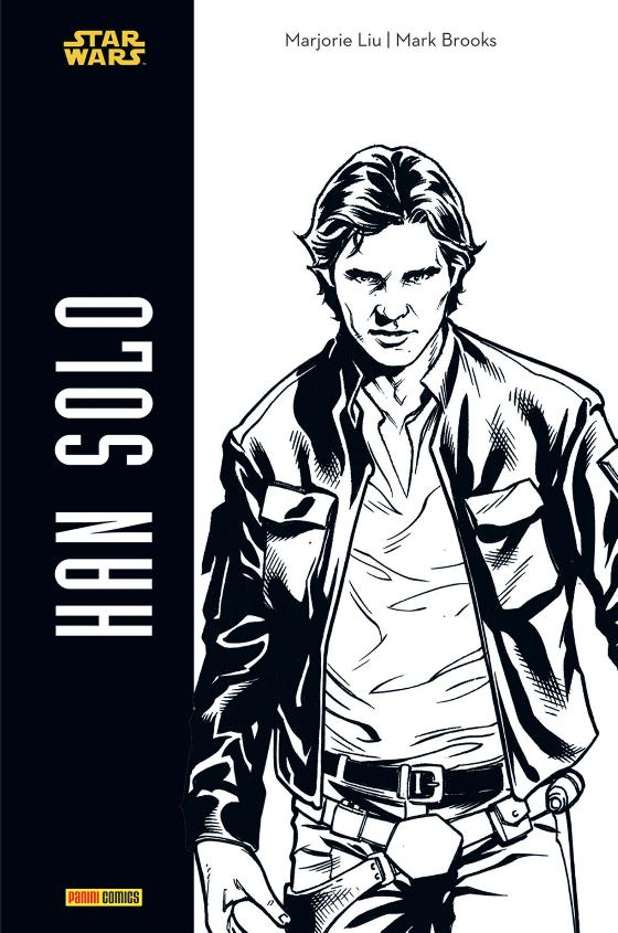 Star Wars HAN SOLO - Edition  Noir & Blanc - PANINI Han_so10