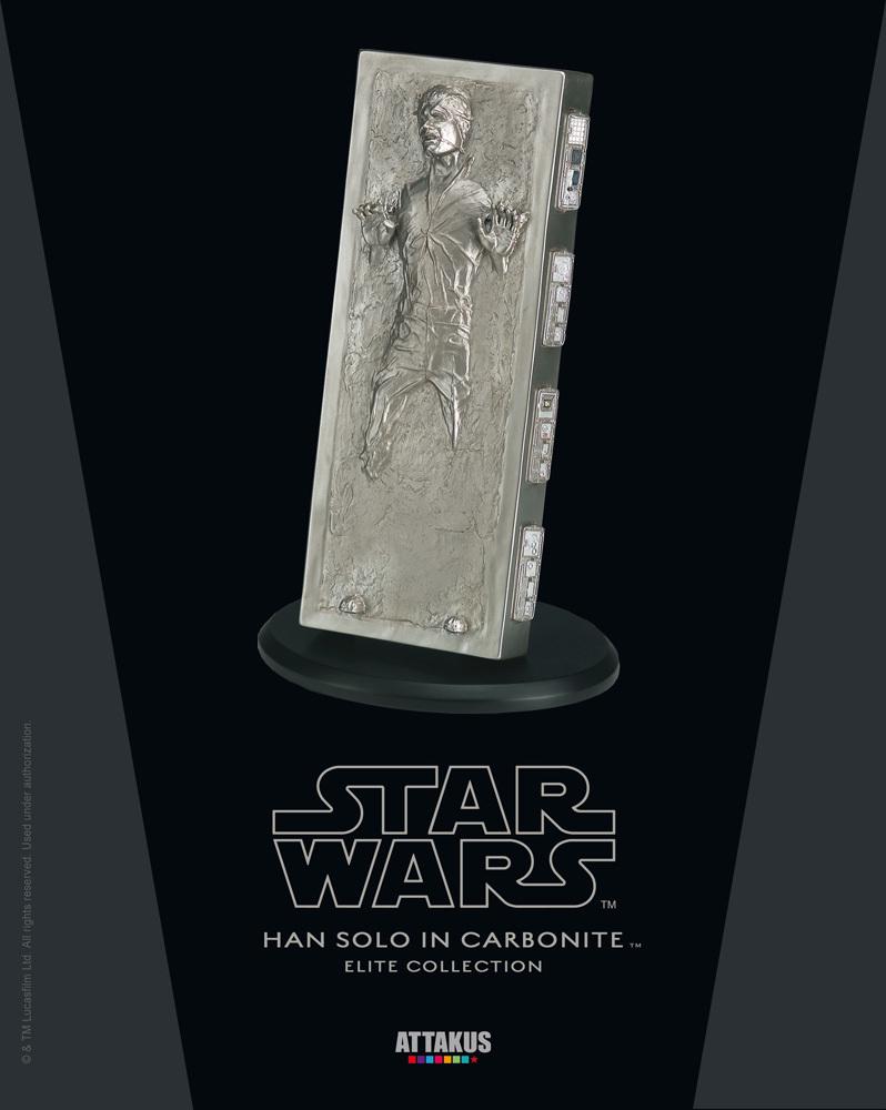 ATTAKUS - Star Wars Elite Collection 1/10 Han Solo Carbonite Hancar10