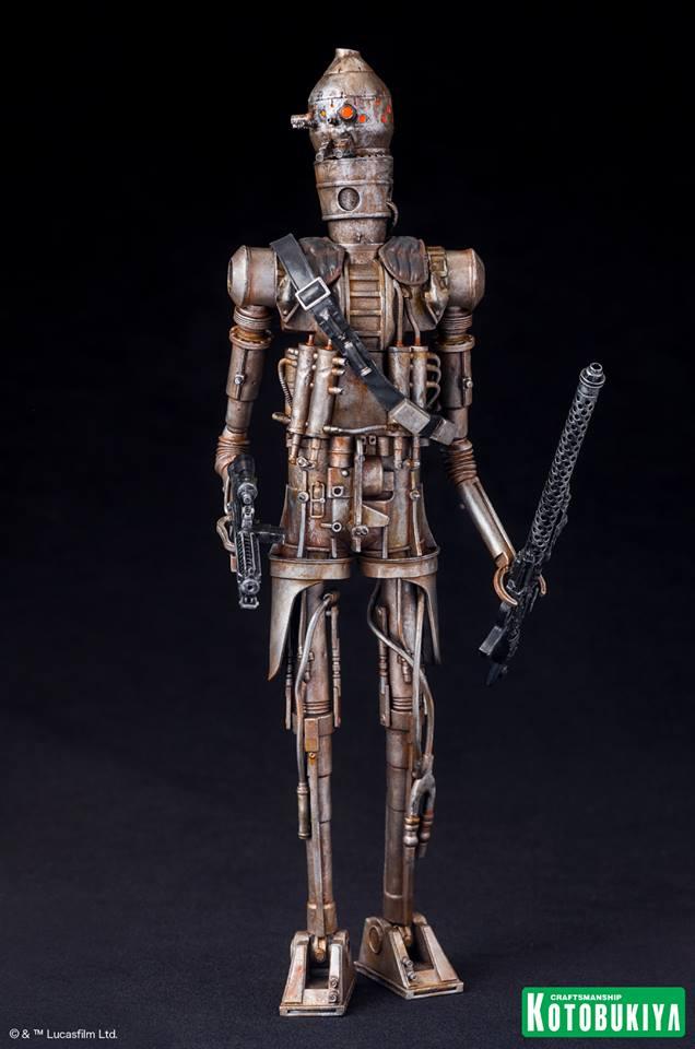 Kotobukiya - Star Wars ESB - IG-88 ARTFX+ Statue Ig-88_10