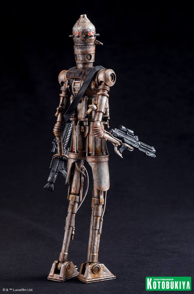 Kotobukiya - Star Wars ESB - IG-88 ARTFX+ Statue Ig-88_12