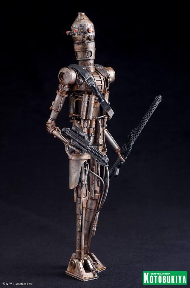 Kotobukiya - Star Wars ESB - IG-88 ARTFX+ Statue Ig-88_13