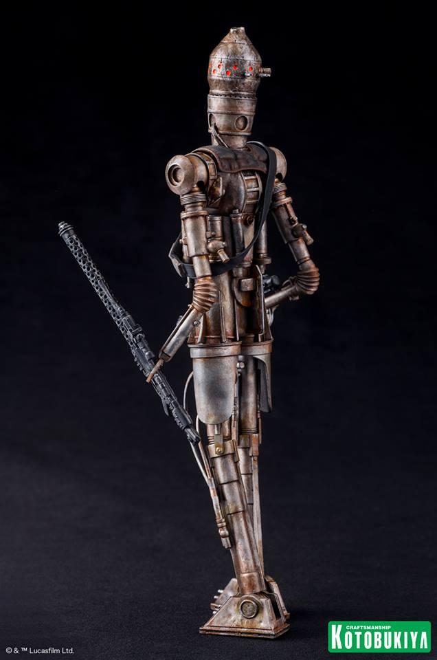 Kotobukiya - Star Wars ESB - IG-88 ARTFX+ Statue Ig-88_14
