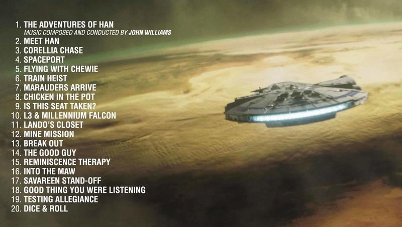 Solo - SOLO A Star Wars Story - La B.O.   Img_2033