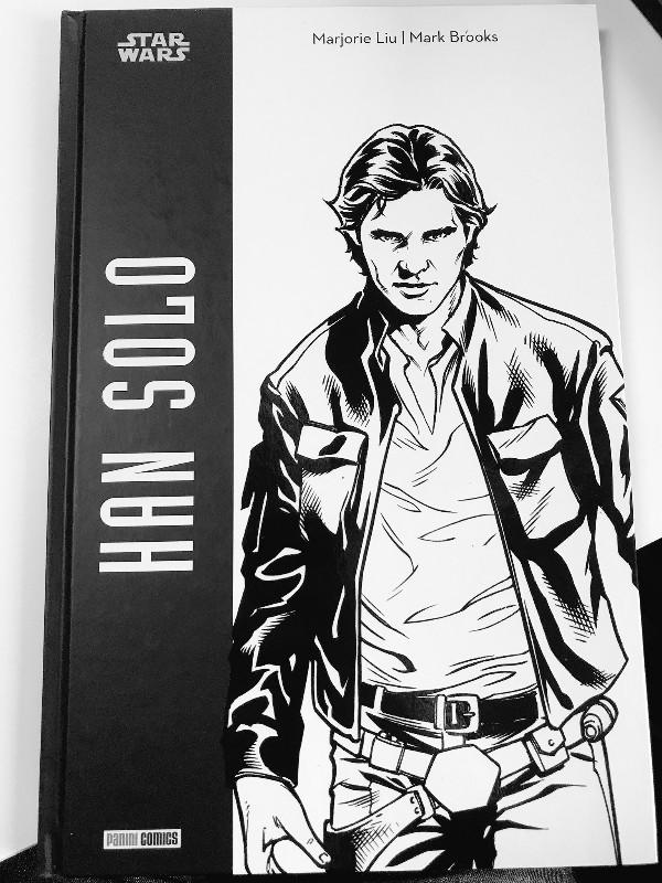 Star Wars HAN SOLO - Edition  Noir & Blanc - PANINI Img_2035