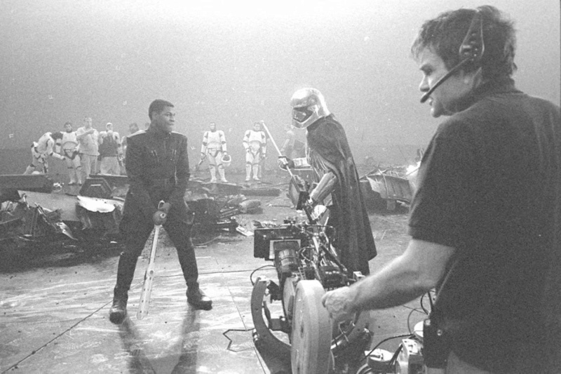 Rian Johnson - Behind The Scene Star Wars The Last Jedi Img_7212