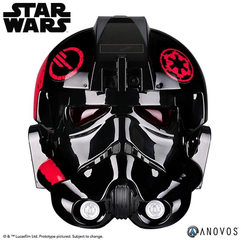 ANOVOS - STAR WARS Inferno Squad Commander Helmet  Infern11